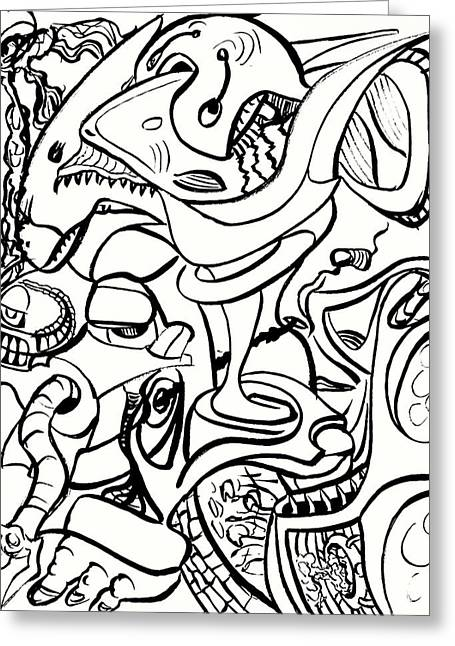 Psychedelic #3 Greeting Card