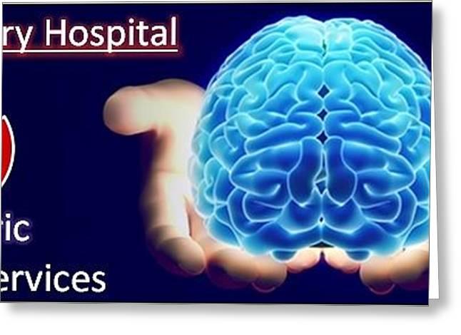 Psychiatrist In Pune Psychiatrist In Pcmc Greeting Card