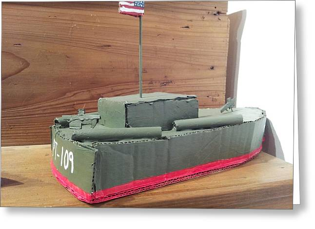 Pt-109 Greeting Card by William Douglas