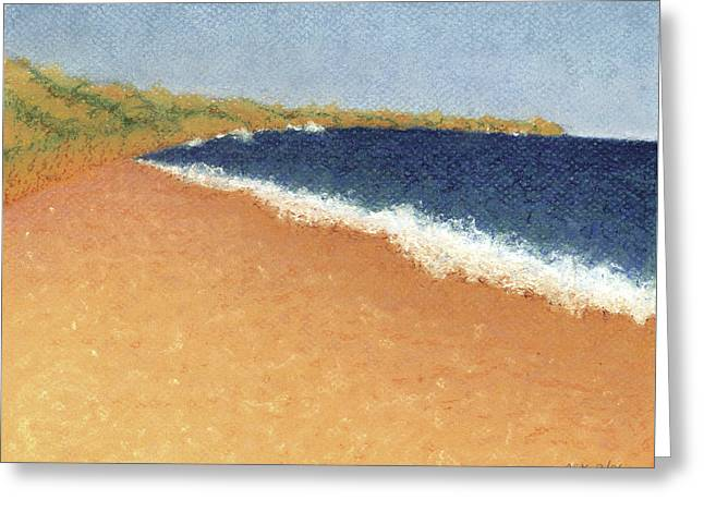 Pt. Reyes Beach Greeting Card by Anne Katzeff