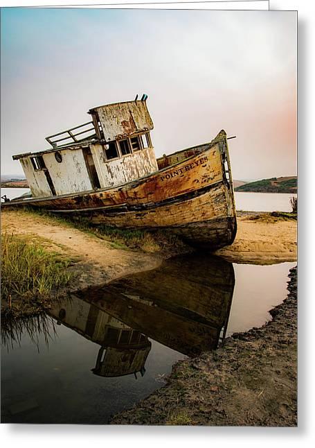 Pt. Reyes Shipwreck 1 Greeting Card