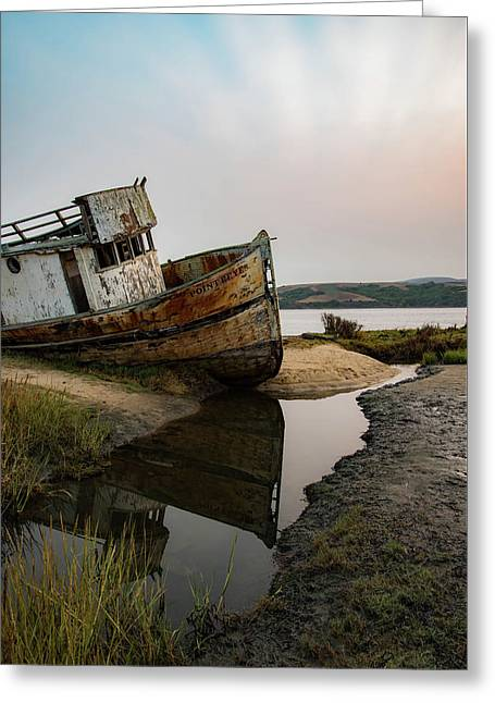 Pt. Reyes Shipwreck 4 Greeting Card