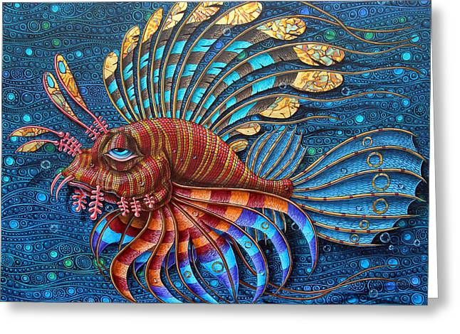 Pterois Greeting Card