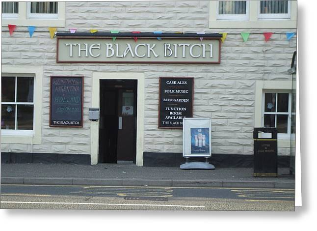 Pub In Scotland Greeting Card