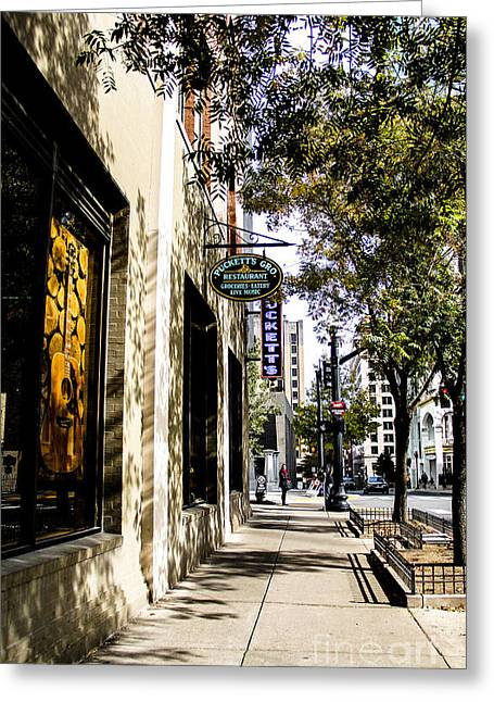 Puckett's Grocery And Restaurant Nashville Tennessee Greeting Card by Marina McLain