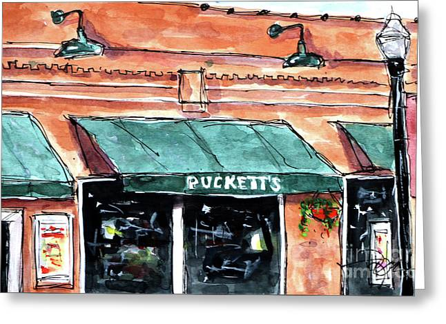 Puckett's Place Greeting Card