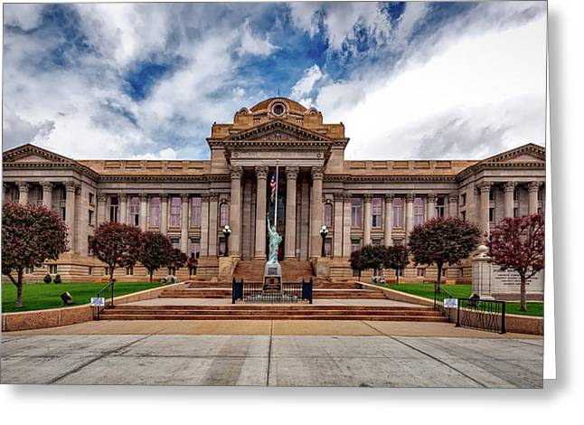 Pueblo County Courthouse Greeting Card