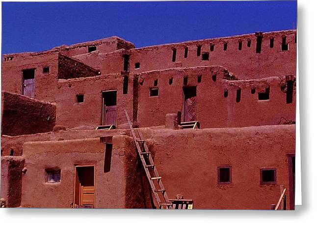 Pueblo Living Greeting Card