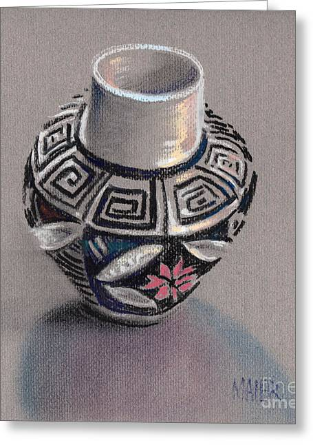 Pueblo Seed Jar Greeting Card