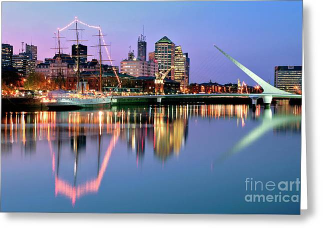 Puerto Madero I Greeting Card