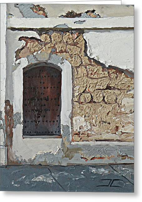 Puerto Rico Door Greeting Card
