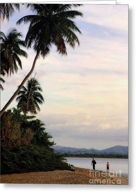 Puerto Rico Palms Greeting Card by Madeline Ellis
