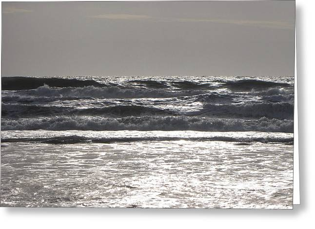 Greeting Card featuring the photograph Puissance Oceane by Marc Philippe Joly