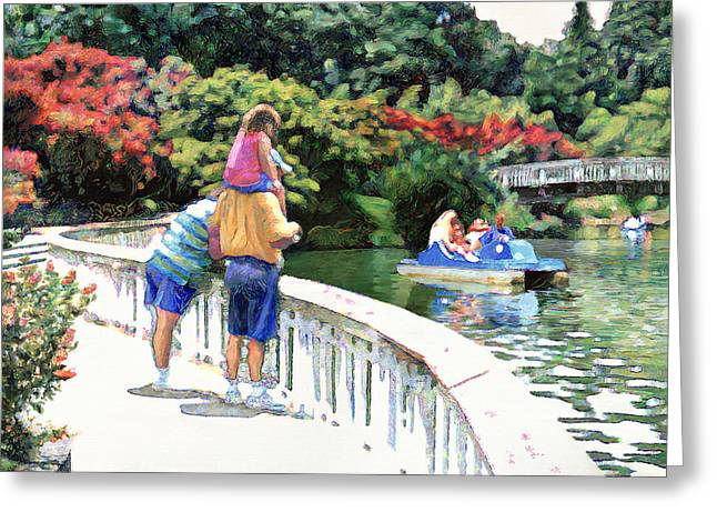Pullen Park Greeting Card
