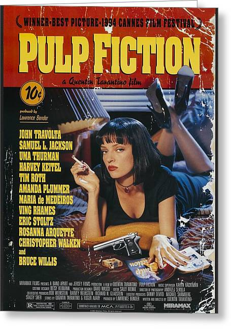 Pulp Fiction 1994 Greeting Card