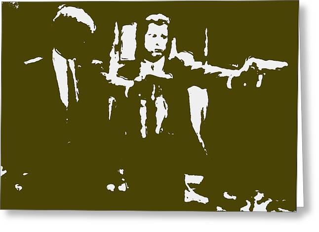 Pulp Fiction 2b Greeting Card