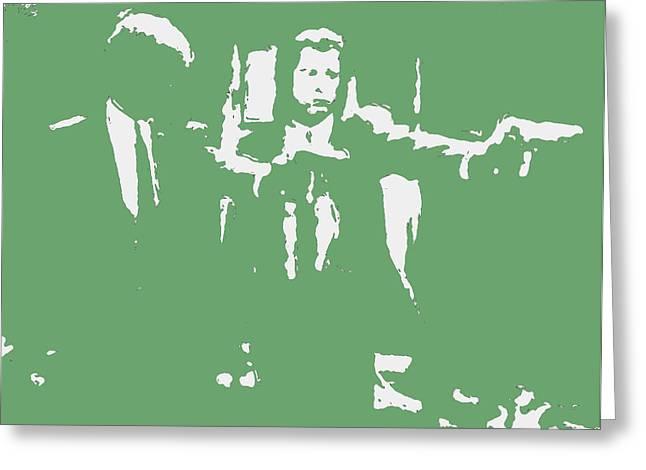 Pulp Fiction 2c Greeting Card