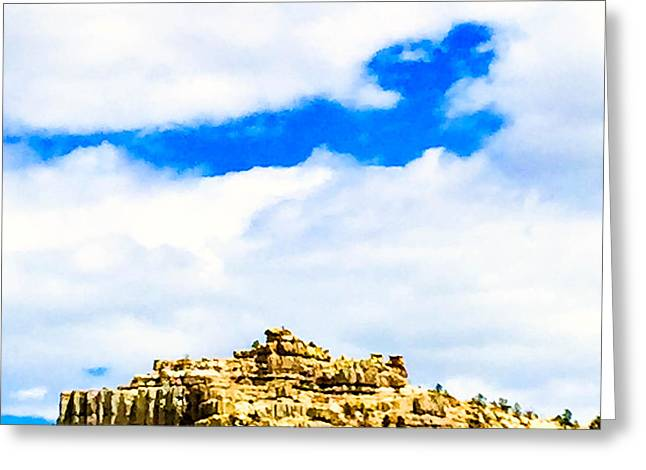 Pulpit Rock Greeting Card