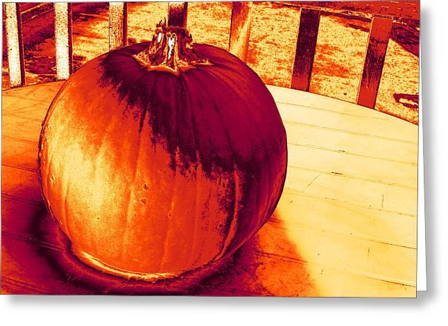 Pumpkin #3 Greeting Card