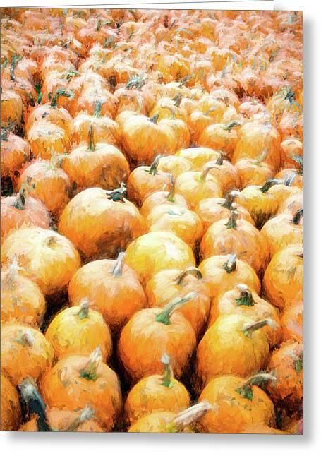 Pumpkin Collection Greeting Card