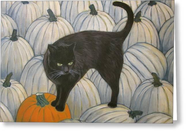 Pumpkin Keeper Greeting Card