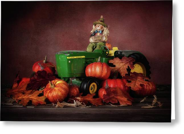 Pumpkin Patch Whimsy Greeting Card