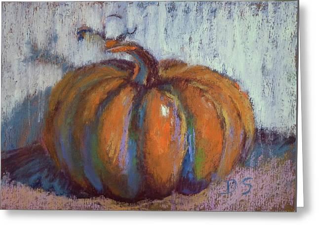 Pumpkin Plenty Greeting Card by Donna Shortt