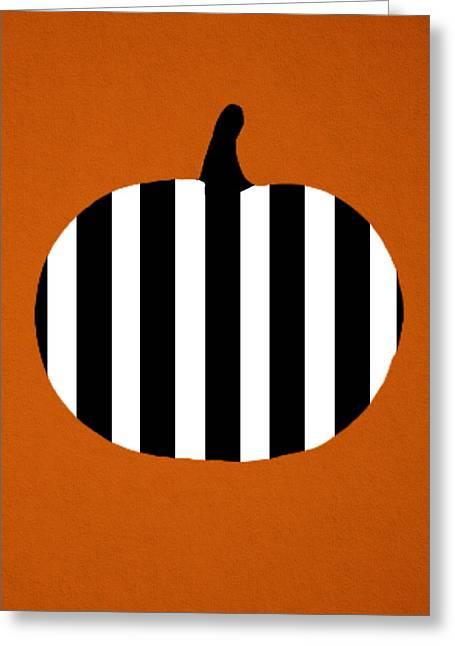 Pumpkin Greeting Card by Art Spectrum