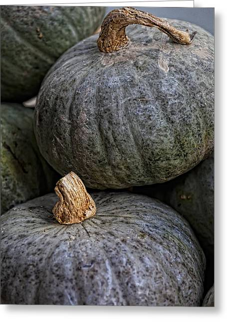 Pumpkins Of Another Color Greeting Card