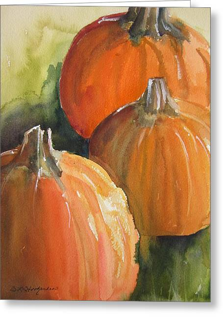 Pumpkins Greeting Card