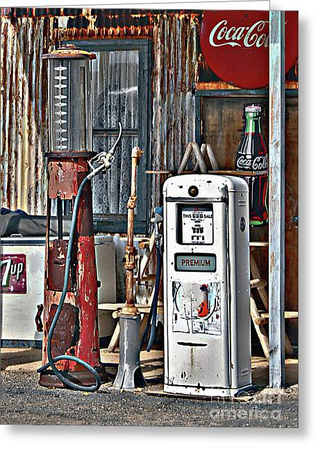 Greeting Card featuring the photograph Pumps by Lee Craig