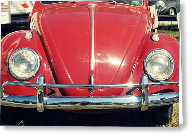 Punch Buggy Red Greeting Card