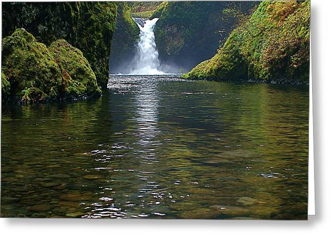 Punchbowl Falls Greeting Card