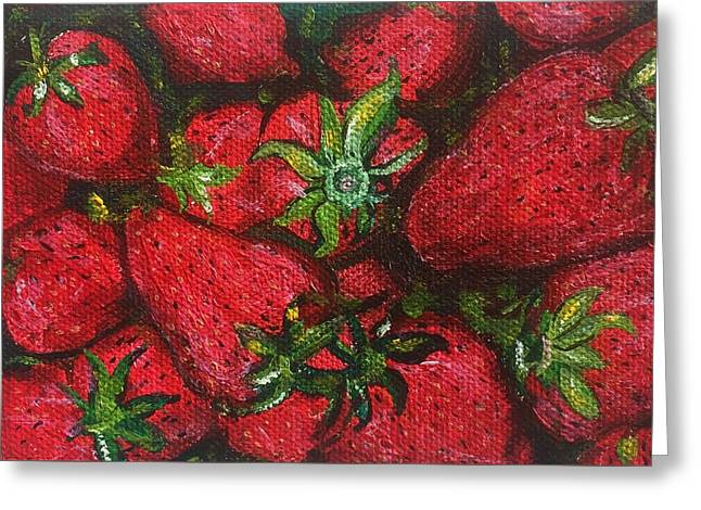 Pungo Strawberries Greeting Card