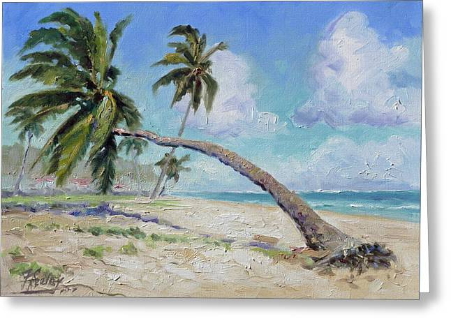 Punta Cana - Sea Beach 13 Greeting Card