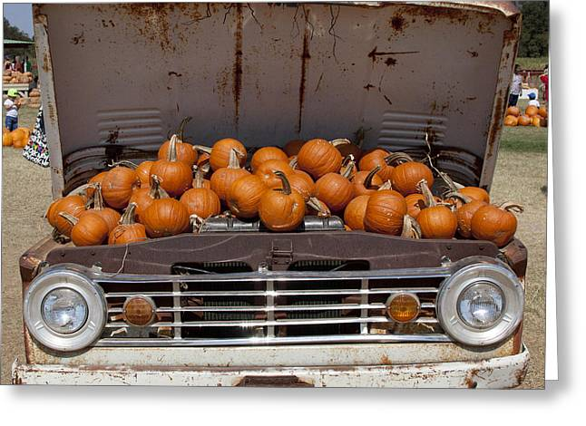 Pupkin Truck Greeting Card