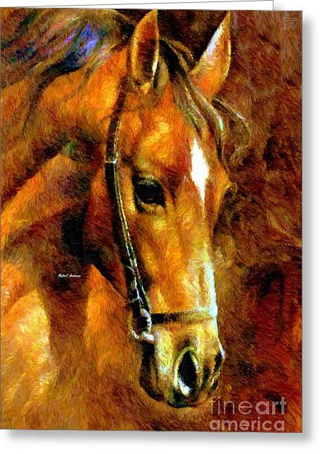 Pure Breed Greeting Card by Rafael Salazar