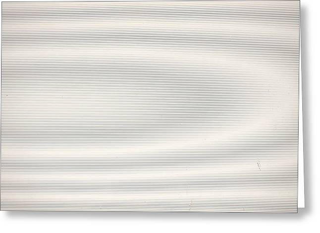 Sine Greeting Cards - Pure Moire Greeting Card by Jim DeLillo