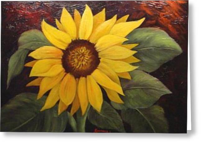 Pure Sunshine  Sold Greeting Card by Susan Dehlinger