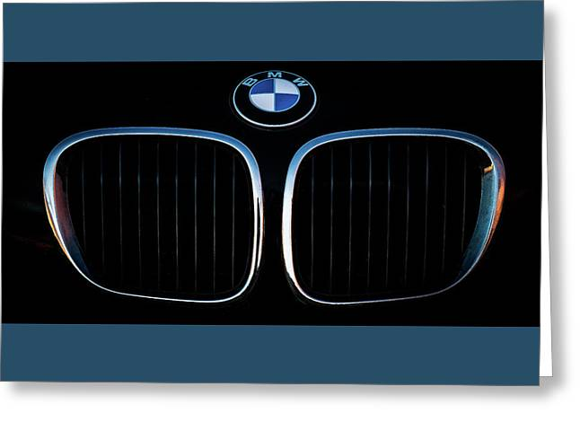 Pure Z3 - Bmw Z3 Grill And Roundel Greeting Card
