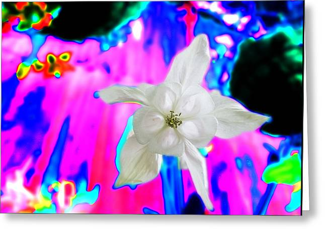 Purity And Chaos Greeting Card