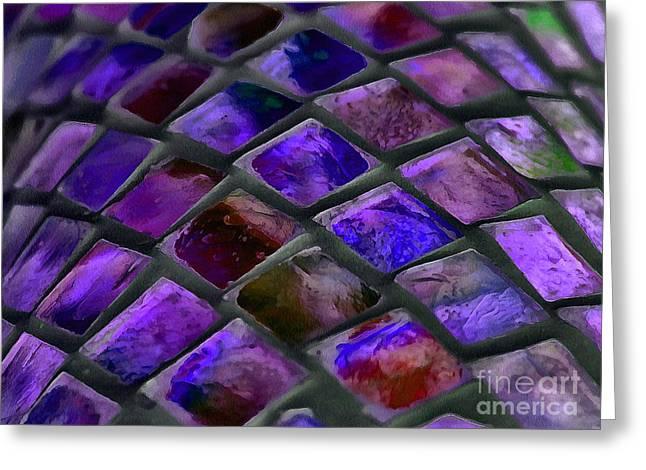 Purple Blush Greeting Card