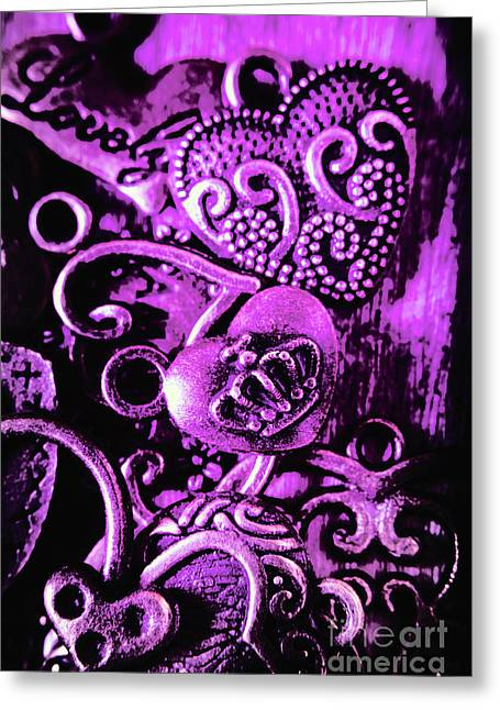 Purple Heart Collection Greeting Card