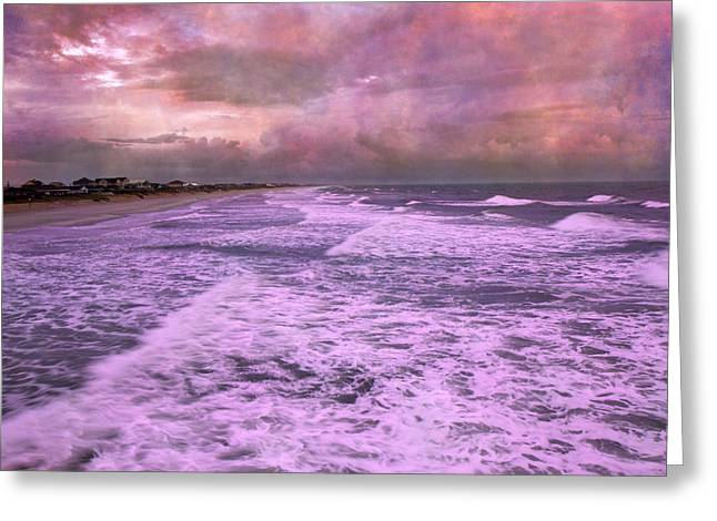 Purple Majesty  Greeting Card by Betsy Knapp