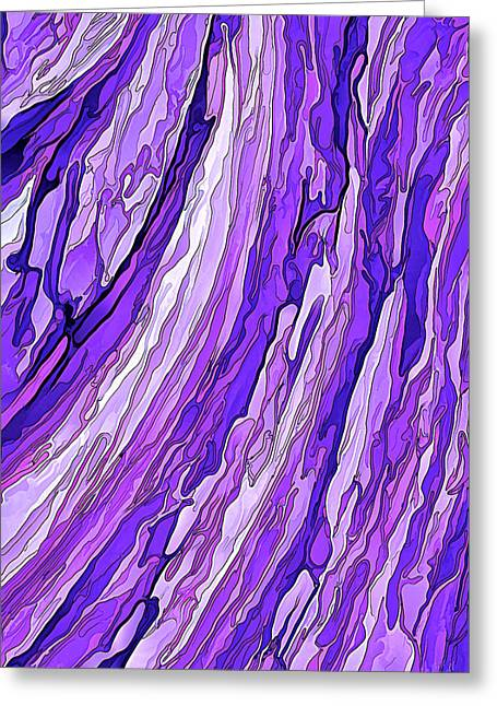 Purple Passion Greeting Card by ABeautifulSky Photography