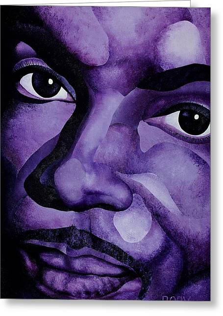 Purple Reign Greeting Card
