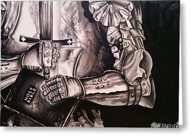 Put On The Full Armor Of God Greeting Card by Shawna Lewellen