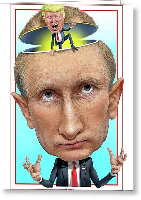 Putin 2016 Greeting Card