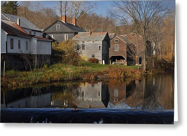 The Wikipedia Photo Of Putney Vt Greeting Card by Gerald Hiam