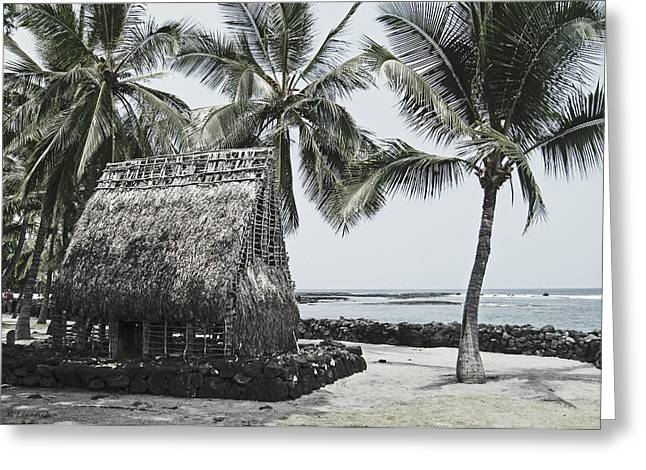 Pu'uhonua O Honaunau National Park Greeting Card